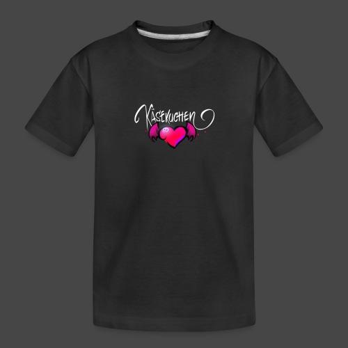 Logo and name - Teenager Premium Organic T-Shirt