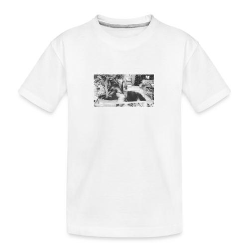 Zzz - Teenager premium biologisch T-shirt