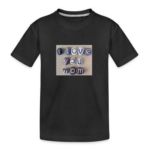 LOVE MOM - Teenager Premium Organic T-Shirt
