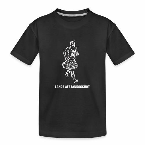Lange Afstandsschot - Teenager premium biologisch T-shirt