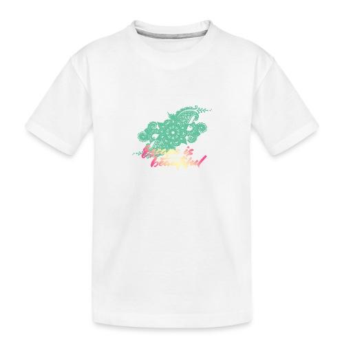 escape is beautiful - T-shirt bio Premium Ado