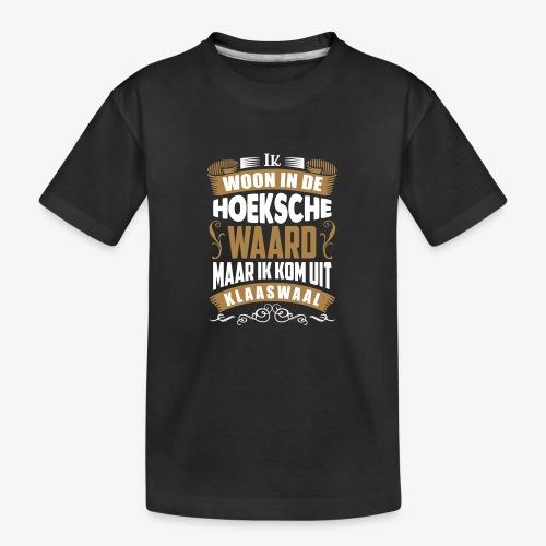 Klaaswaal - Teenager premium biologisch T-shirt