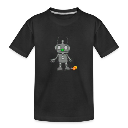 Robotino de desing impact - Camiseta orgánica premium adolescente