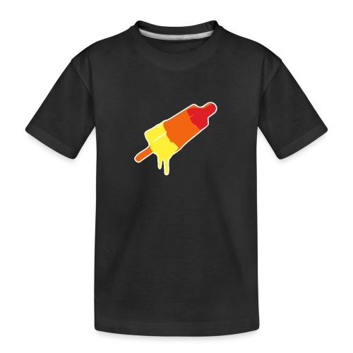 Raket - Teenager premium biologisch T-shirt