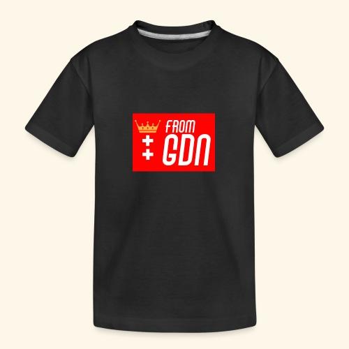 #fromGDN - Ekologiczna koszulka młodzieżowa Premium
