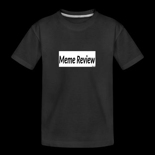 Meme Review - Ekologisk premium-T-shirt tonåring