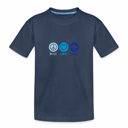 Peace Love Scout - T-shirt bio Premium Ado