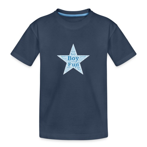 A star is born - Teenager premium biologisch T-shirt