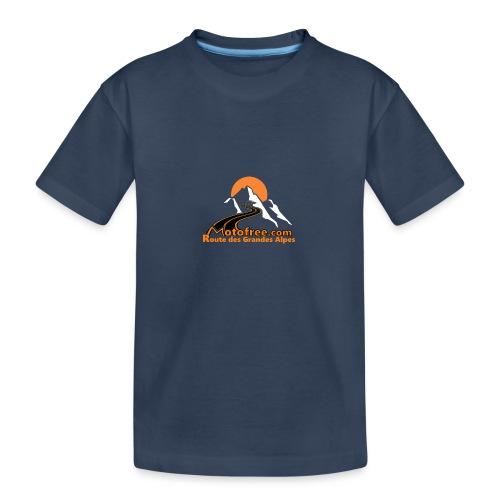 logo motofree orange - T-shirt bio Premium Ado