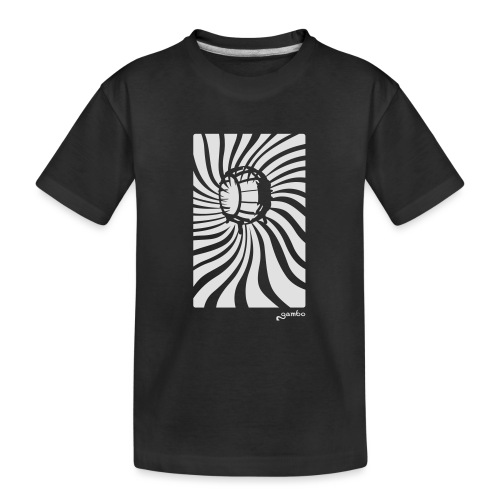 wirbel - Teenager Premium Bio T-Shirt