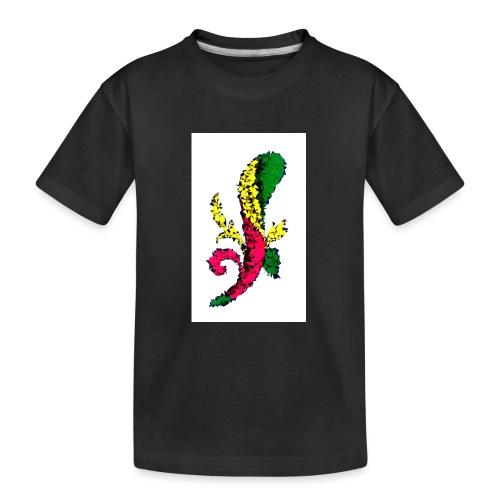 Asso bastoni - Maglietta ecologica premium per ragazzi