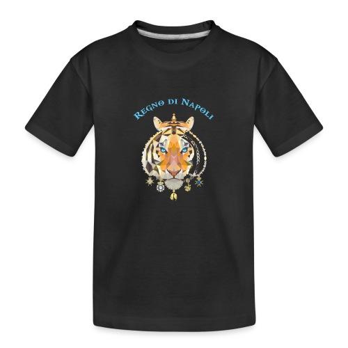regno di napoli tigre - Maglietta ecologica premium per ragazzi