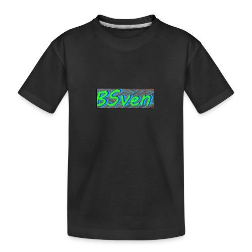 logo yt ttv BSven - Teenager premium biologisch T-shirt