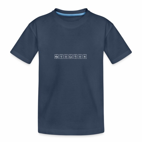 REVOLUTION - Teenager Premium Organic T-Shirt