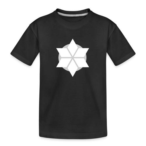 Morgonstjärnan - Ekologisk premium-T-shirt tonåring