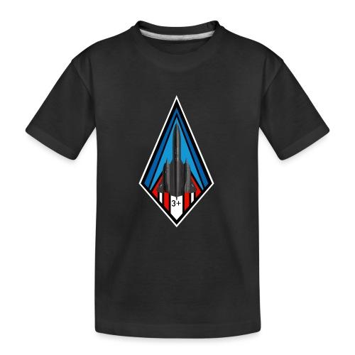 SR-71 Blackbird - T-shirt bio Premium Ado