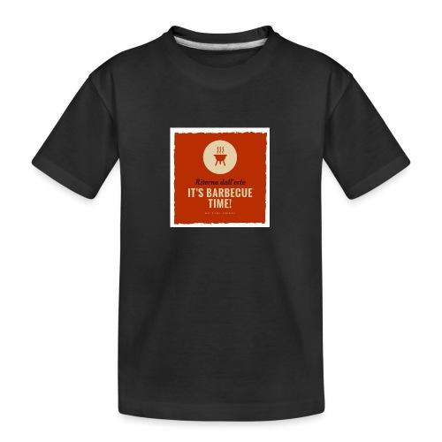 Solo una cosa può farti tornare dall'orto... - Maglietta ecologica premium per ragazzi