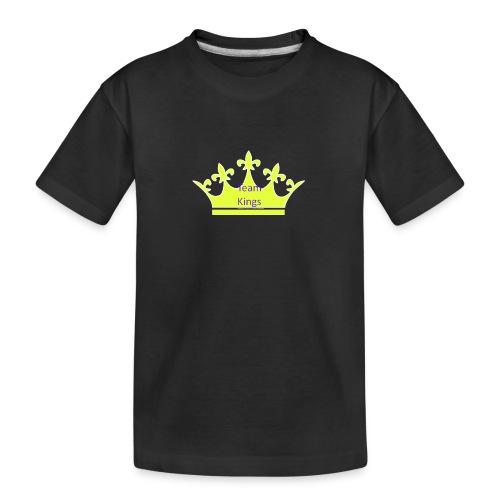 Team King Crown - Teenager Premium Organic T-Shirt
