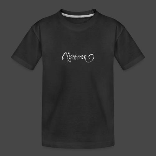 Name only - Teenager Premium Organic T-Shirt