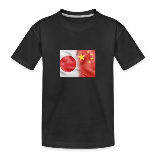 japan china flag - Maglietta ecologica premium per ragazzi