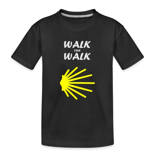 Walk the Walk - Camino de Santiago - Teenager premium T-shirt økologisk