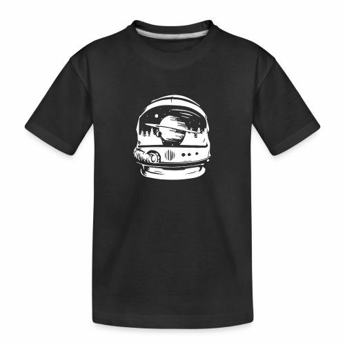 Woodspace Astronaut - Ekologiczna koszulka młodzieżowa Premium