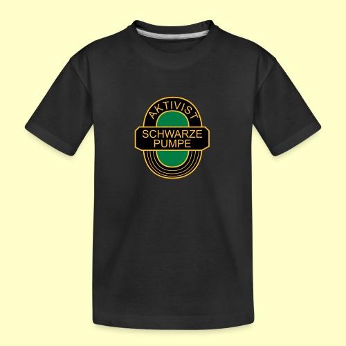 BSG Aktivist Schwarze Pumpe - Teenager Premium Bio T-Shirt