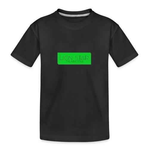 Untitled 3 png - Teenager premium T-shirt økologisk