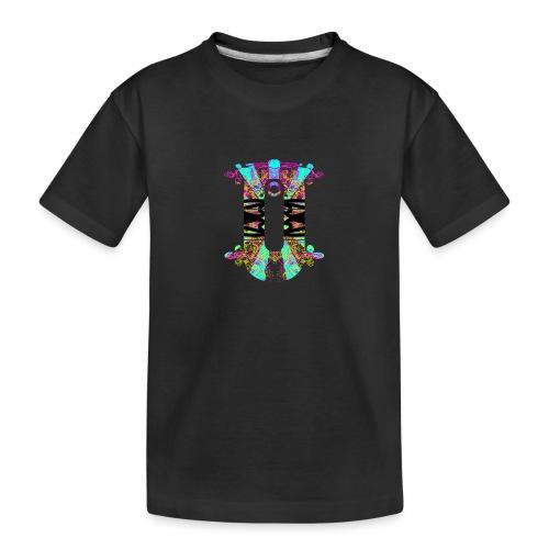 O - Teenager premium biologisch T-shirt