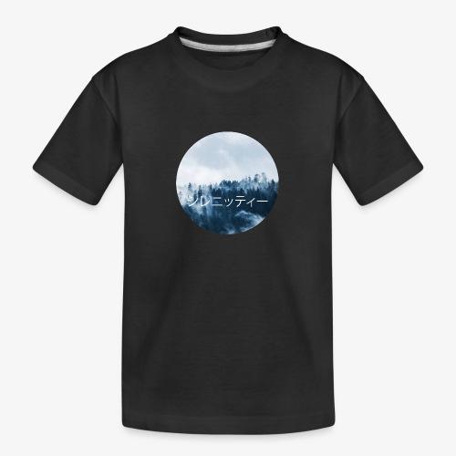 Serenity - Ekologisk premium-T-shirt tonåring