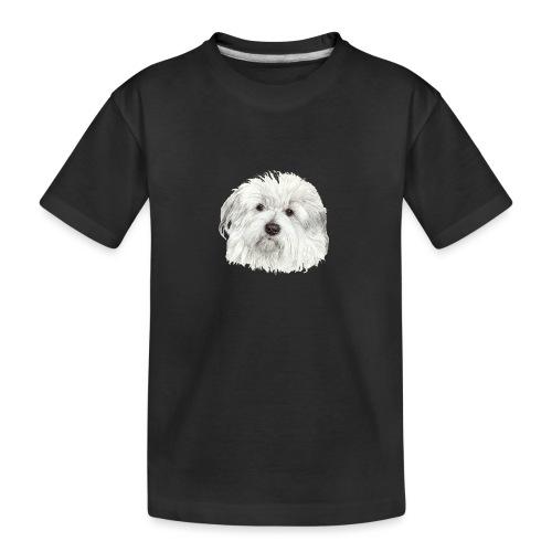 coton-de-tulear - Teenager premium T-shirt økologisk