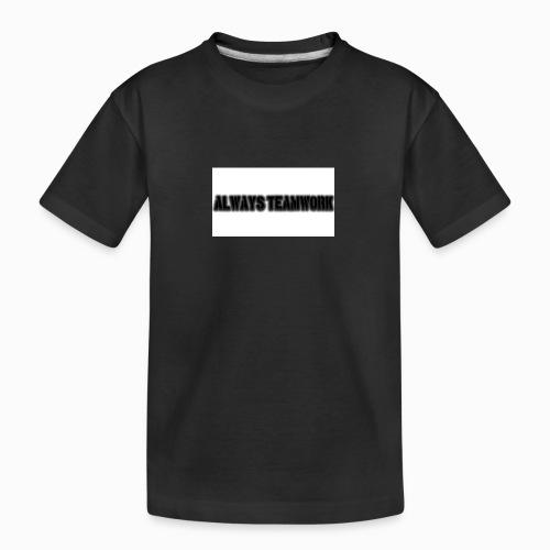 at team - Teenager premium biologisch T-shirt
