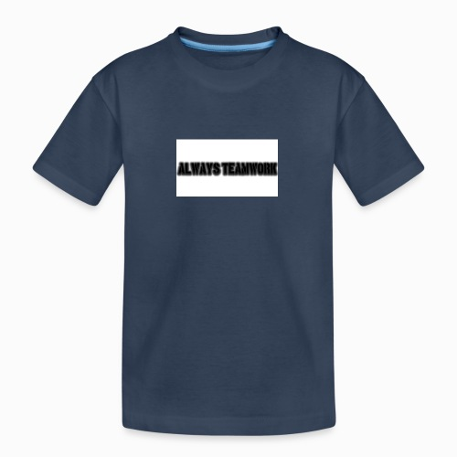at team - Teenager premium biologisch T-shirt