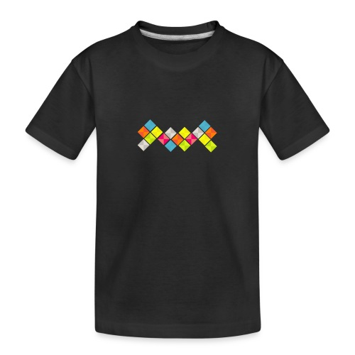x-five - Teenager premium biologisch T-shirt