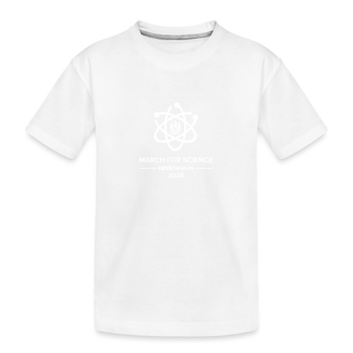 March for Science København 2018 - Teenager Premium Organic T-Shirt