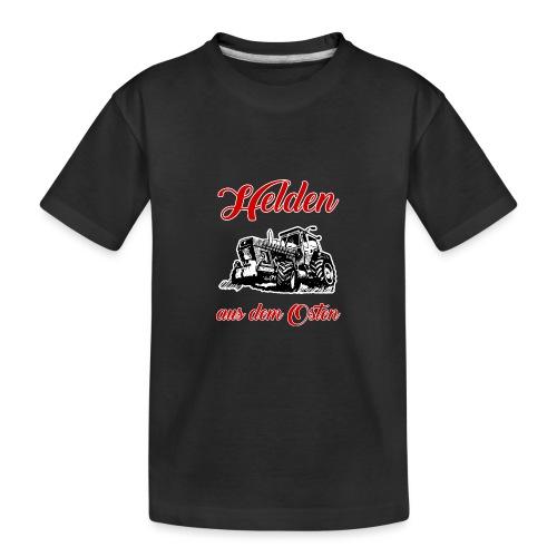 Helden aus dem Osten - Teenager Premium Bio T-Shirt