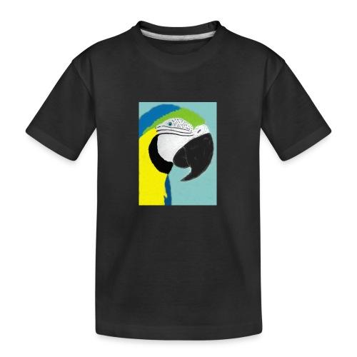 Parrot, new - Teinien premium luomu-t-paita
