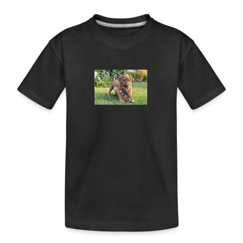 adorable puppies - Teenager Premium Organic T-Shirt