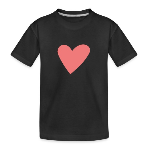 Popup Weddings Heart - Teenager Premium Organic T-Shirt