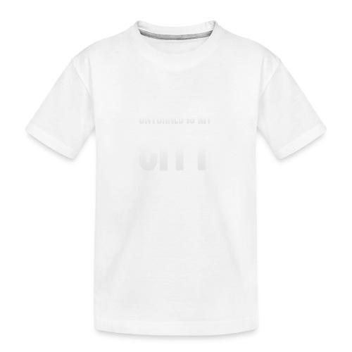 Unturned is my city - Teenager Premium Organic T-Shirt