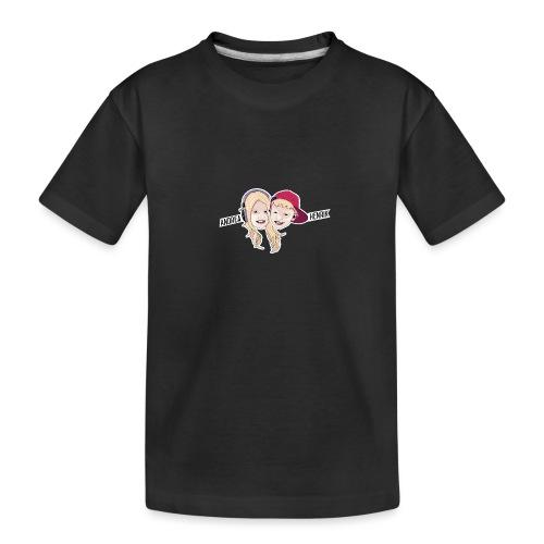 Enkel Logo - Premium økologisk T-skjorte for tenåringer