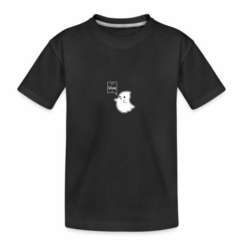 Ghost - Teenager Premium Organic T-Shirt
