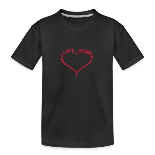 I love my horse - Teenager Premium Bio T-Shirt