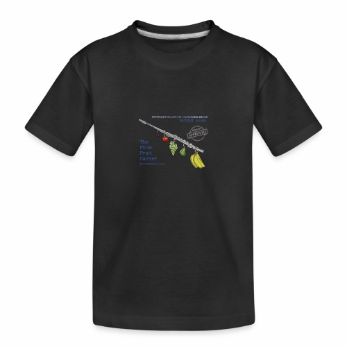 Experimental Musical Instruments - Flute Fruit - Teenager Premium Organic T-Shirt