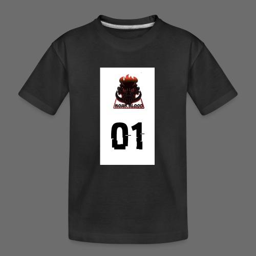 Boar blood 01 - Ekologiczna koszulka młodzieżowa Premium