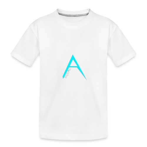 ANGISTEF SQUAD LOGO - Ekologisk premium-T-shirt tonåring