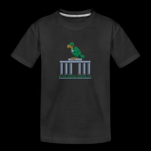 Berlin Geier - Teenager Premium Bio T-Shirt