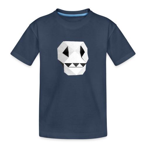 Origami Skull - Skull Origami - Calavera - Teschio - Teenager Premium Organic T-Shirt