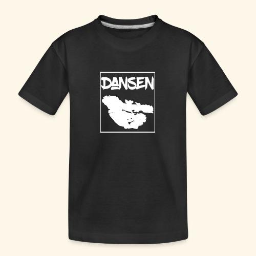 DansenKartaVit - Ekologisk premium-T-shirt tonåring