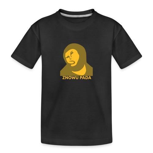 Znowu pada Jeżus z Borja - Ekologiczna koszulka młodzieżowa Premium